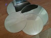 10 Mirror plates, ideal for wedding centrepieces