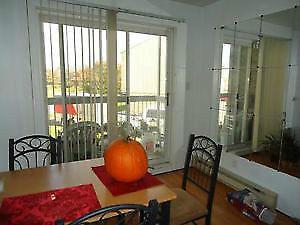 Superbe appartement/condo 41/2 à Charny en face des ponts