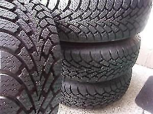 set of 4 TOYOTA CAMRY 205/65/15 NEW WINTER tires rims 5x 114.3