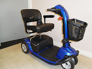 Pride Victory 10 electric Scooter  - Blue color .twin wheels fr