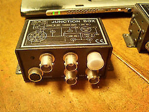 CAMERA VIDEO JUNCTION BOX (For use with XC series SONY Cameras )