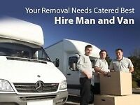 Cheap Price Nationwide Man&Van Luton Hire House Office Removal Sofa Furniture Move Rubbish Waste