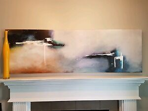 Large Painting On Canvas