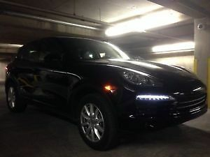 PRIVATE SALE- 2013 Black Porsche Cayenne with new winter tires