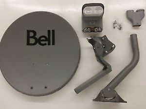 Bell Satellite Dishes LNB's DPP Twin and Quad DPP, SWITCHES, NEW