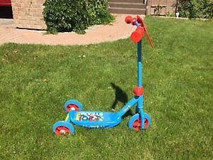 Toddler 3-Wheel Scooter