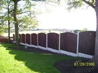 Fencing, Driveways, mini digger and dumper hire, Patios, Gardens, Turfing and artificial grass