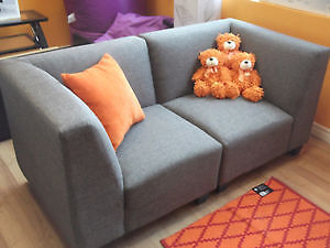 SPECIAL! 5 PC MODULAR GREY COUCH & LOVESEAT - USED 3 WEEK London Ontario image 9