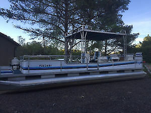 Large Pontoon Boat