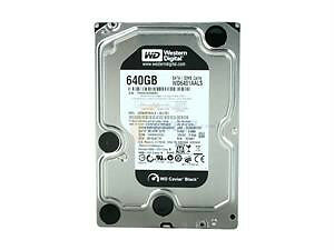 Western Digital BLACK WD6401AALS 640GB 7200 RPM 32MB Cache