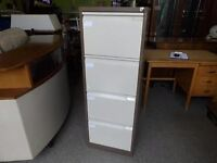 20% OFF ALL ITEMS SALE - Metal 4 Drawer Filing Cabinet For Home Or Office - Can Deliver For £19