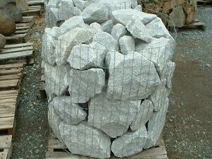 50% OFF White Granite Rocks For your Garden From Sids-Ponds