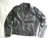 Manteau doublé cuir tres resistant