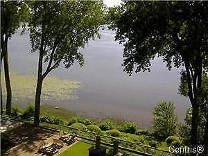 Waterfront pierrefond condo furnished all inclusive