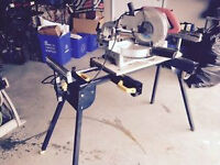 "10"" Mitre saw with stand"