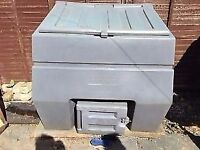 GREY COAL BUNKER BIGGEST YOU CAN GET £50.00 CAN DELIVER ANYTIME