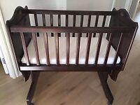 Beautiful Boori Matilda Rocking Crib for sale