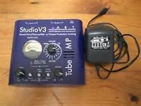 ART V3 VALVE PRE AMP WITH POWER SUPPLY