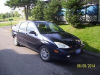 2002 Ford Focus all equipe Berline