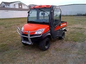 Kubota RTV 1100 WITH 7' CURTIS PLOW - FULLY LOADED!!