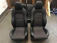 Ford Fiesta MK6 Half Leather seats