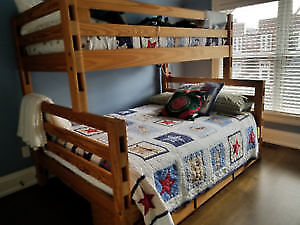 Crate Design Bunkbed for sale!