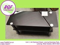 SALE NOW ON!! Black Glass TV Cabinet - Can Deliver For £19