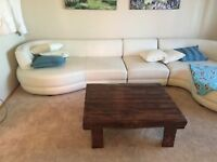 Handcrafted Reclaimed wood coffee table, free delivery