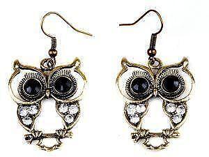 Vintage Owl Earrings