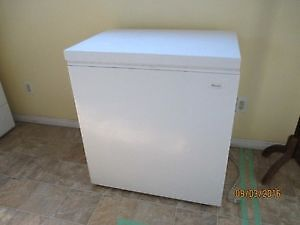 Woods brand 5 cubic foot apartment sized freezer