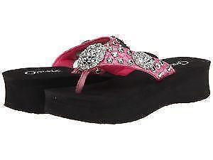 179051588a8d Black Rhinestone Flip Flops