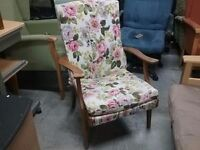SALE NOW ON!! Parker Knoll Chair - For Reupholstery - Can Deliver For £19