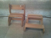 Childs Bench/Step Stool