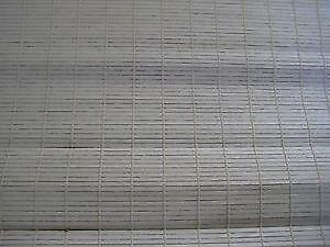 white bamboo blinds white wicker bamboo roller blinds ebay