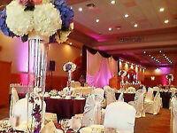 housse de chaise,nappe,boucle,décoration et location,mariage