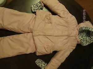 Girl's 2-piece Snowsuit