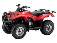Looking for 4 wheeler will trade for work - skilled carpenter