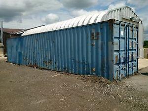 40' Sea container in good shape Kitchener / Waterloo Kitchener Area image 1