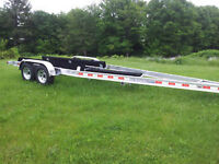2014 tandom axle boat trailer 7000lb cap up to 28' boat $4999