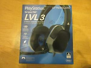 PS4 Headset, Only used once!
