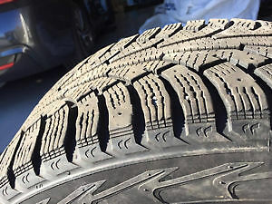 Winter Tires and Rims 18'' Excellent condition Gatineau Ottawa / Gatineau Area image 2