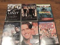 DVD's for sale $2.00 each