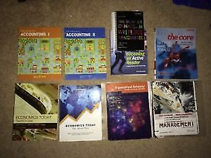 NAIT Business Administration Year 1 Textbooks