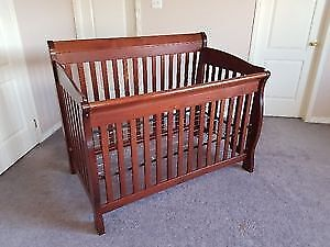Crib and Mattress never used