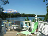 SUMMER AT THE COTTAGE ON CHEMONG LAKE IN THE KAWARTHAS