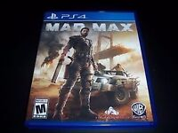 Mad Max on PS4