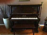 piano droit wormwith