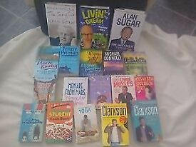 "Huge book bundle 18 books 3""are brand new hardbacks Car boot? table top sale?"