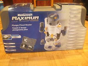 (NEW)**LOWERED** Mastercraft MAXIMUM Router  11A / 2 HP