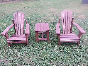 Kid's Wooden Chair Set for Sale!